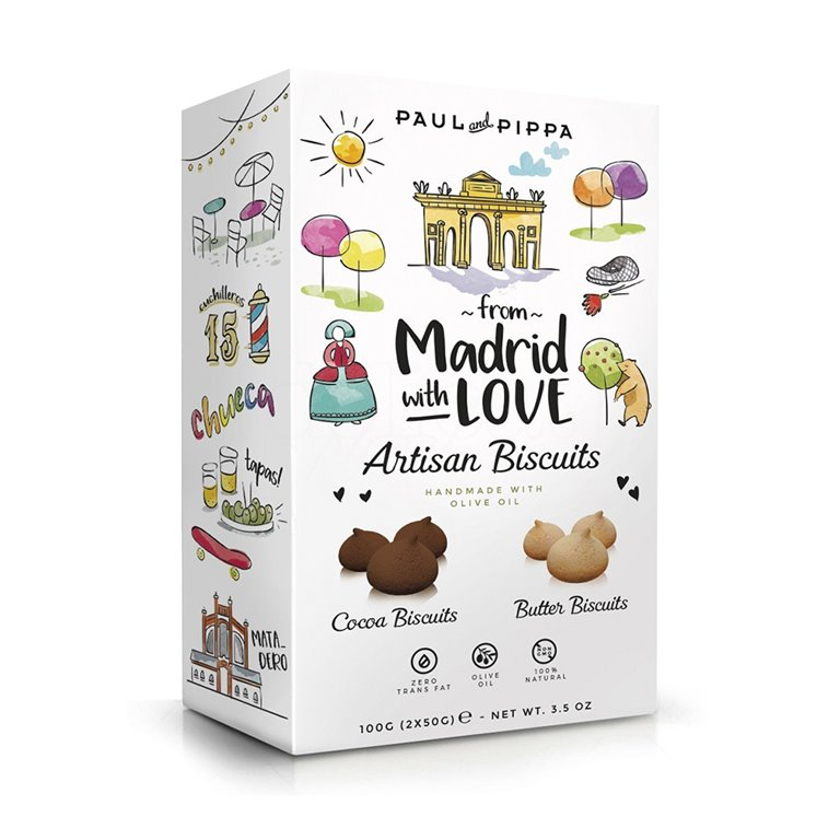 Paciencias From Madrid with Love 150gr. Paul & Pippa. 8un, 1 ud