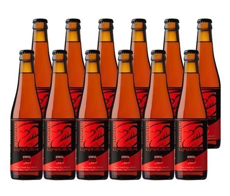 Pack 12 Botellas 33cl Cerveza Artesana Enigma Complutum, 1 l