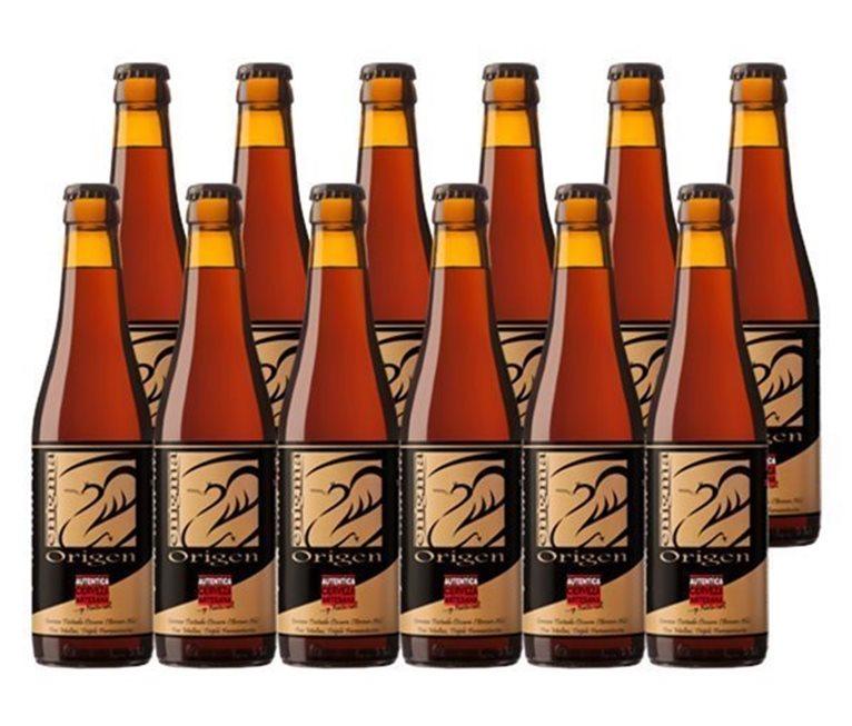 Pack 12 Botellas 33cl Cerveza Artesana Enigma Origen, 1 l