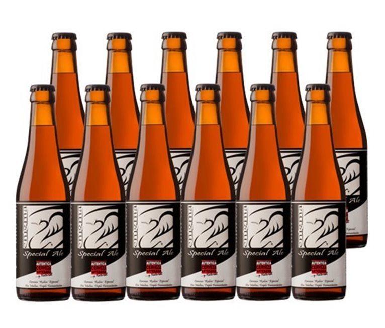 Pack 12 Botellas 33cl Cerveza Artesana Enigma Special Ale, 1 l