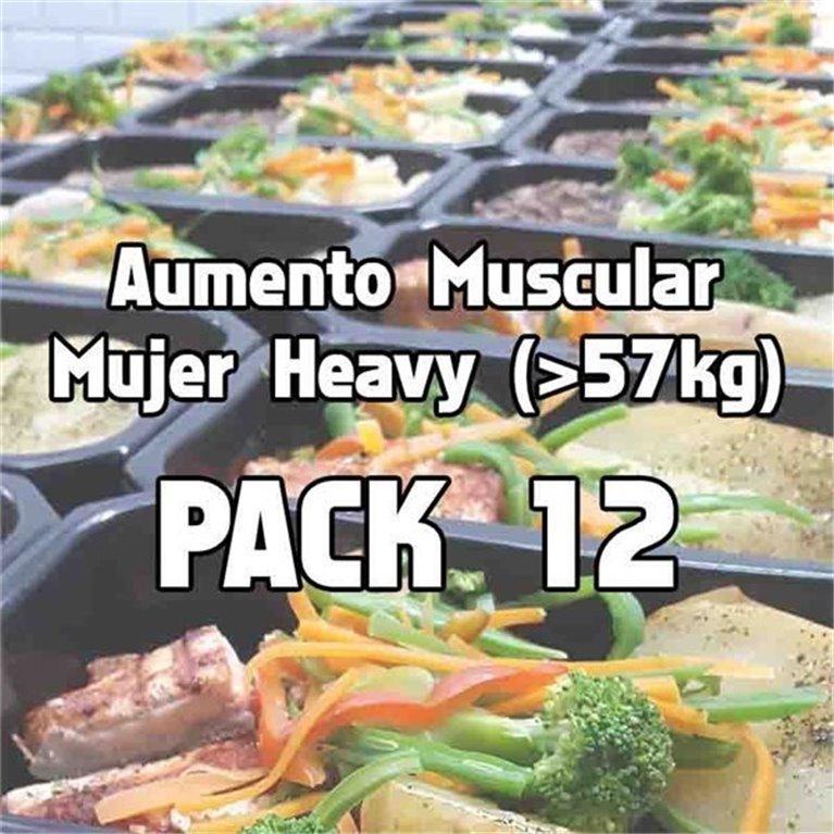 Pack 12 comidas AMH, 1 ud