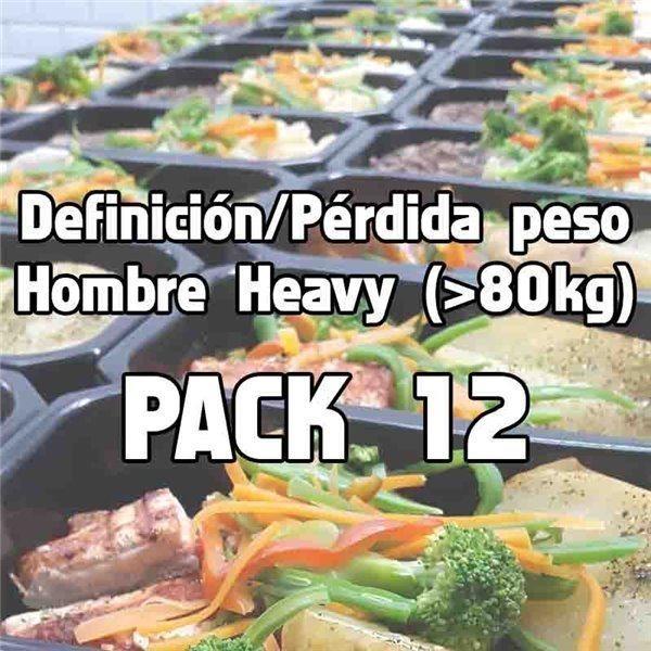 Pack 12 comidas DHH