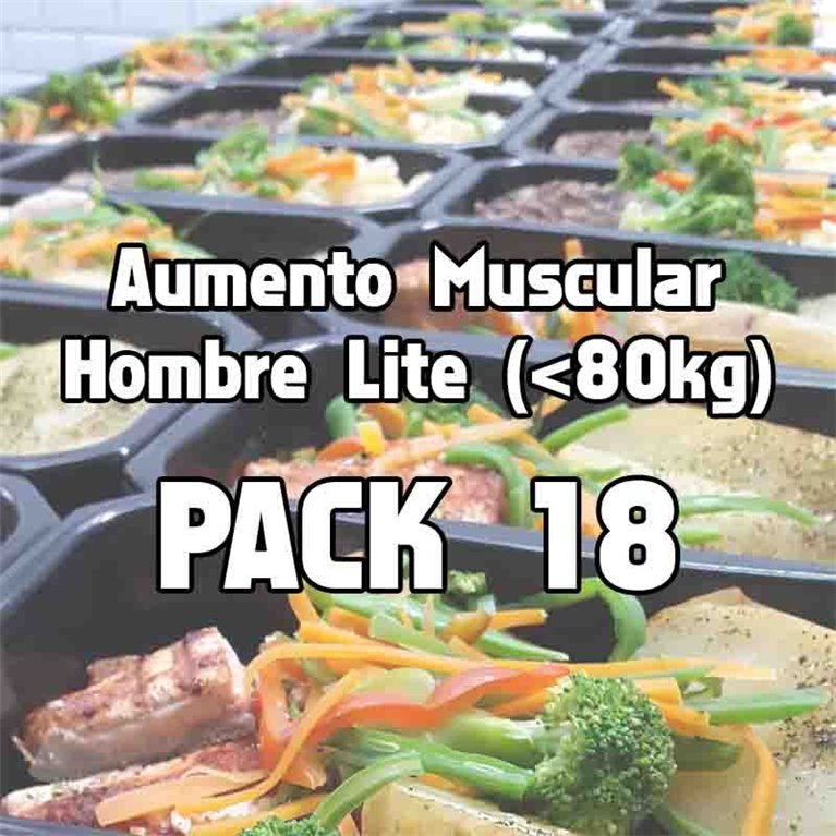Pack 18 comidas AHL, 1 ud