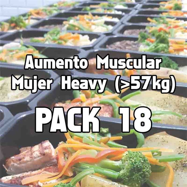 Pack 18 comidas AMH