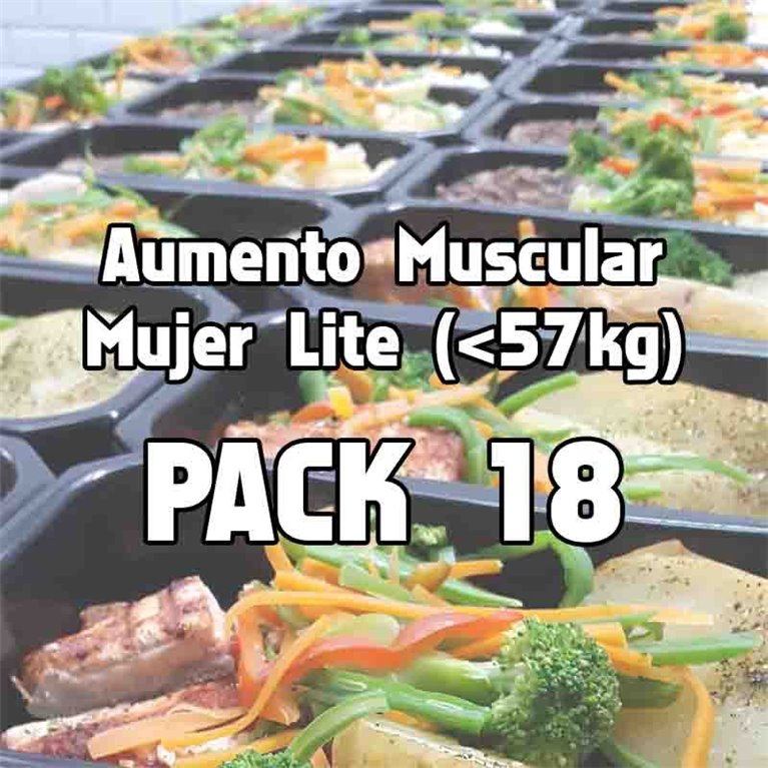 Pack 18 comidas AML, 1 ud