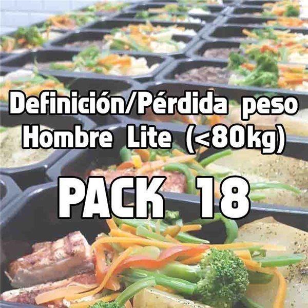 Pack 18 comidas DHL