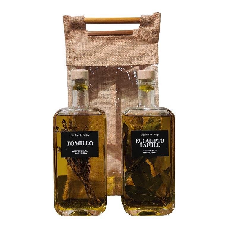 Pack 2 Bottles of Aromatized Oil - 0,5L
