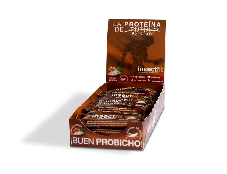 Pack 24 barritas Nutmix y Chocolate, 1 gr