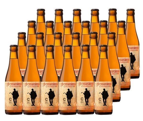 Pack 24 Botellas 33cl Cerveza Artesana Enigma Cervantes 400