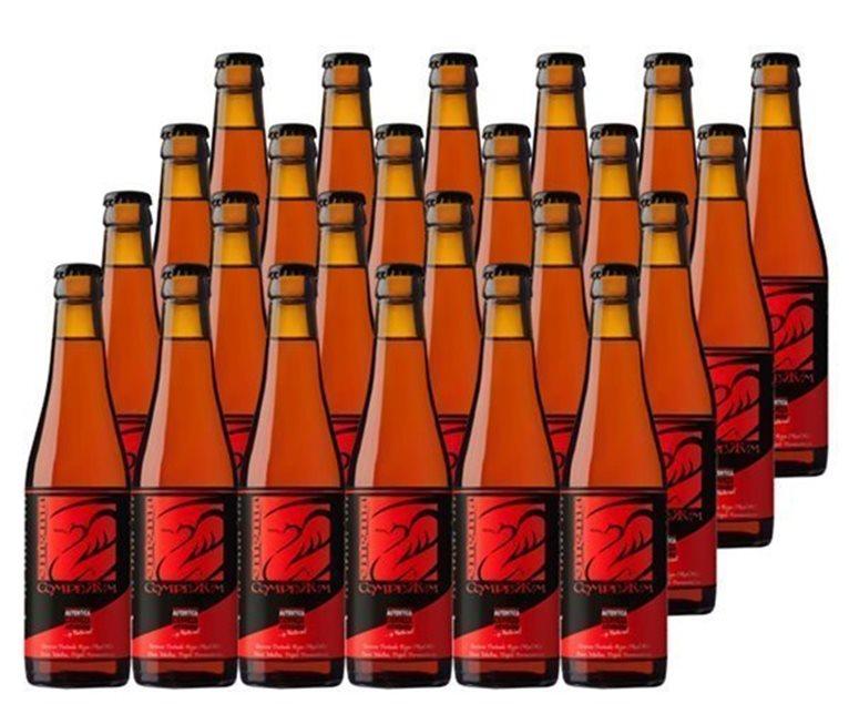 Pack 24 Botellas 33cl Cerveza Artesana Enigma Complutum, 1 l