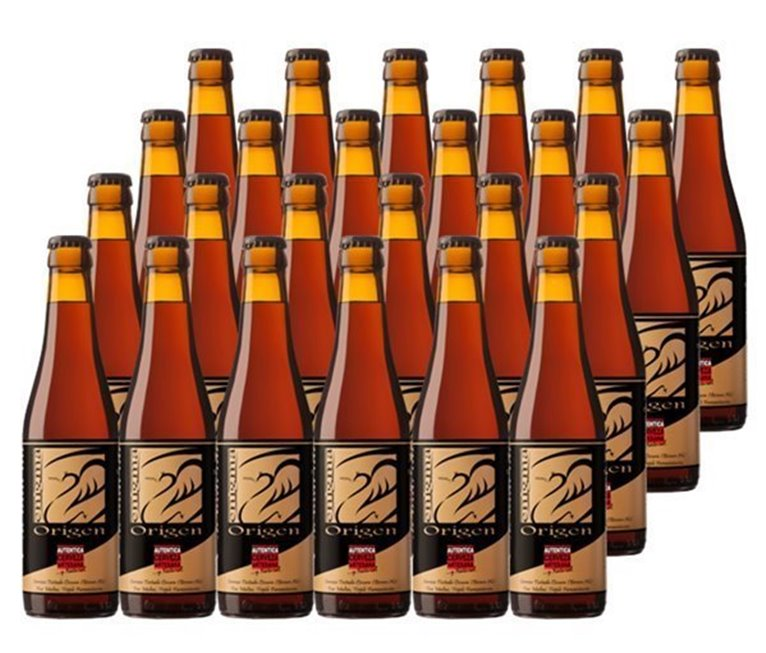 Pack 24 Botellas 33cl Cerveza Artesana Enigma Origen, 1 l