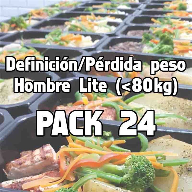 Pack 24 comidas DHL