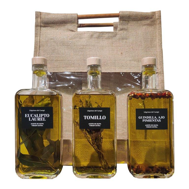 Pack 3 Bottles of Aromatized Oil - 0,5L