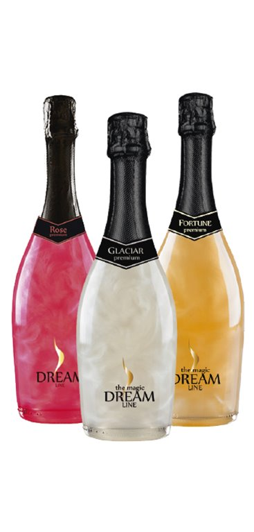 Pack 3 Botellas Dream Line, 1 ud
