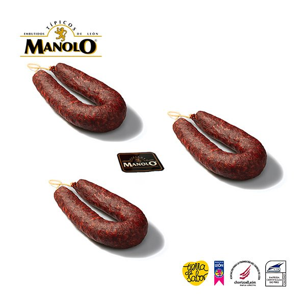 Pack 3 Chorizos de León
