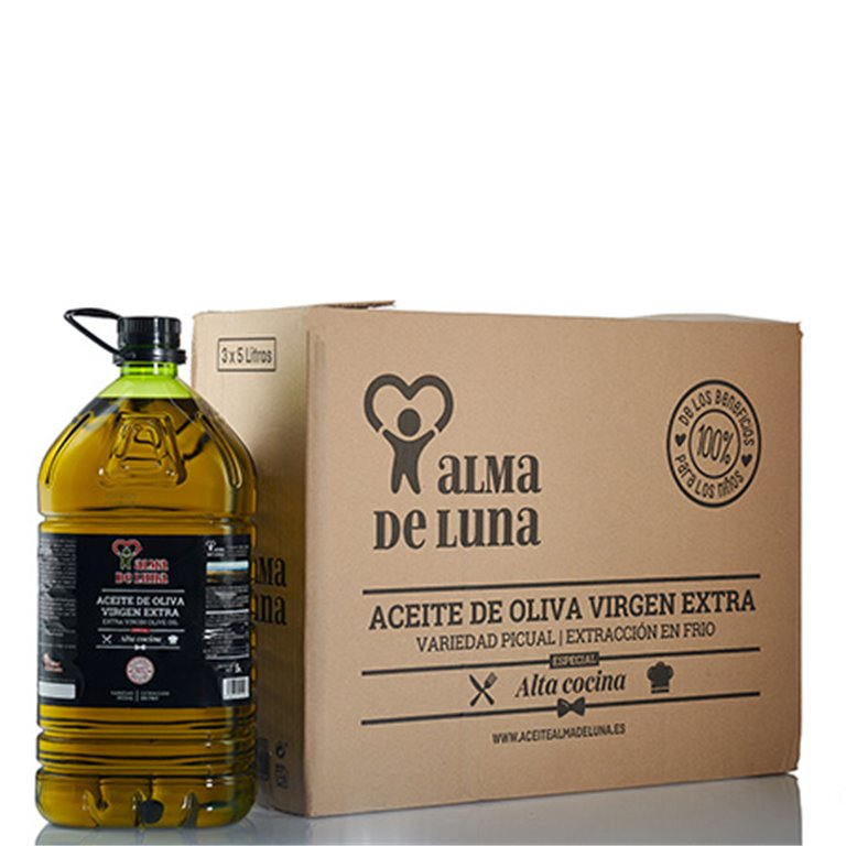 Pack 3 garrafas de Aceite de Oliva Virgen Extra (Alta cocina) 15 litros