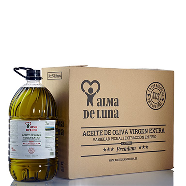Pack 3 garrafas de Aceite de Oliva Virgen Extra (Premium) 15 litros