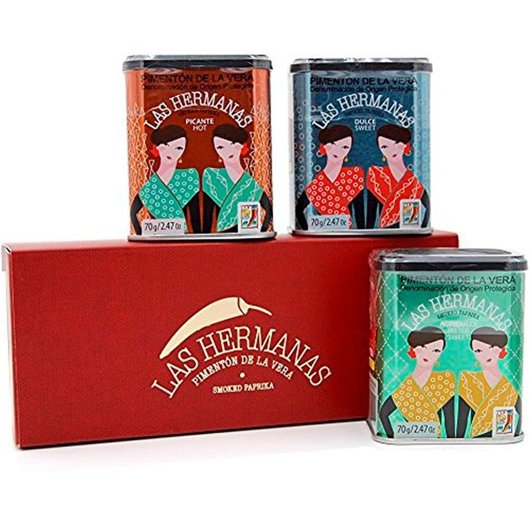 Pack 3 latas pimentón Las Hermanas