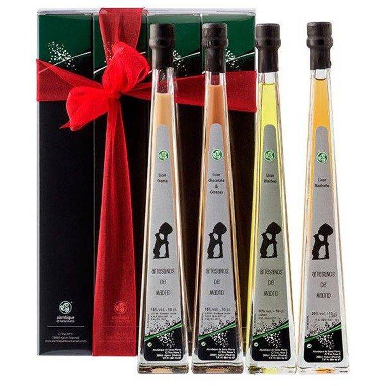 Pack 4 Botellas Piramidal