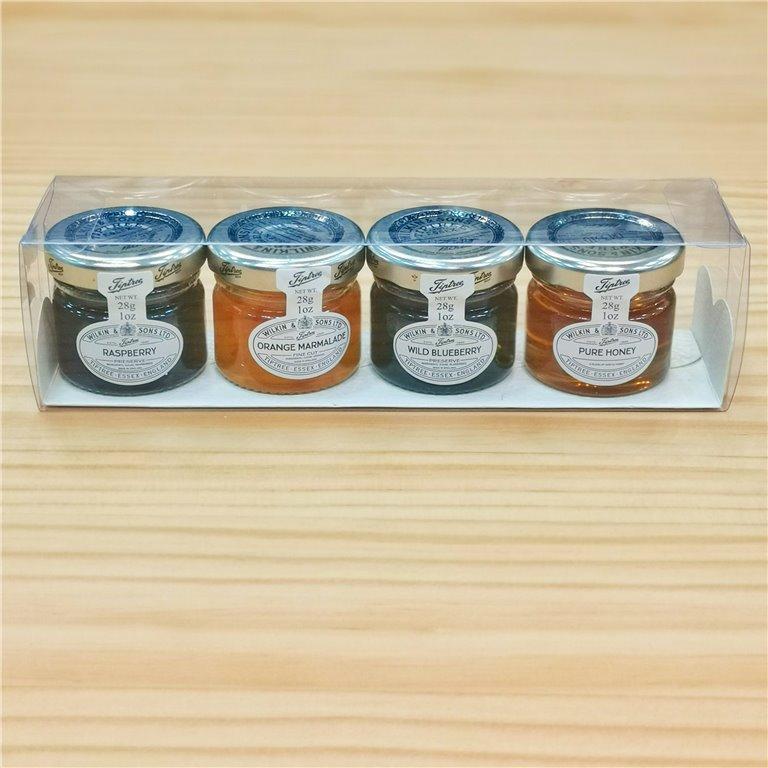Pack 4x28gr. mermeladas y miel Tiptree