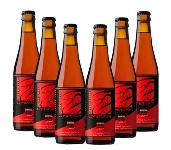 Pack 6 Botellas 33cl Cerveza Artesana Enigma Complutum
