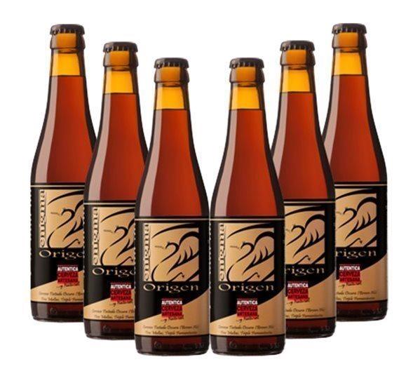 Pack 6 Botellas 33cl Cerveza Artesana Enigma Origen