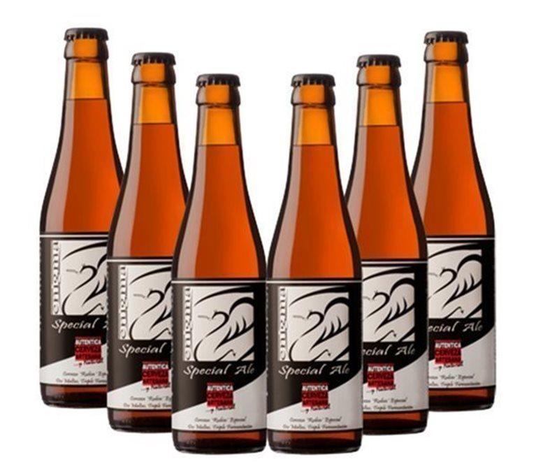 Pack 6 Botellas 33cl Cerveza Artesana Enigma Special Ale, 1 l