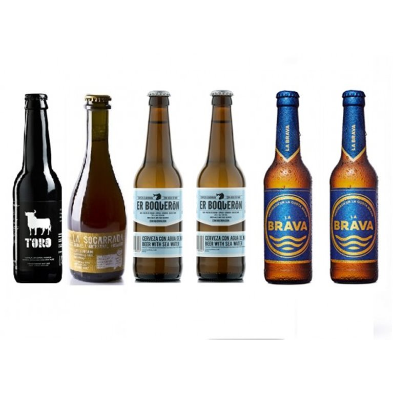 Pack 6 Cervezas Artesanales Premium, 1 ud