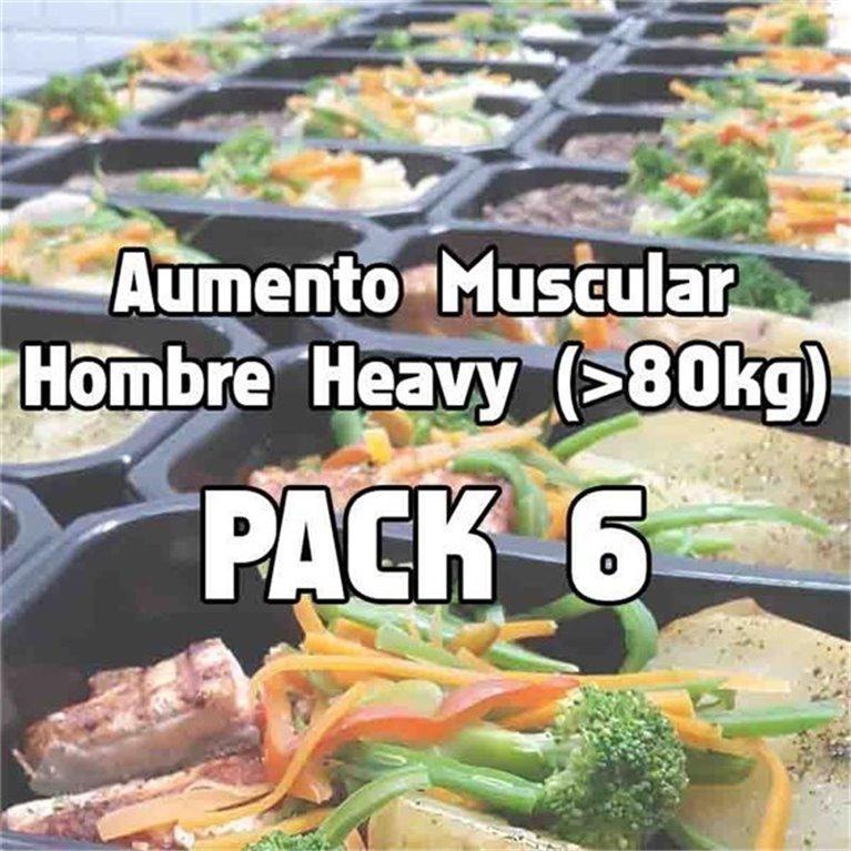 Pack 6 comidas AHH, 1 ud