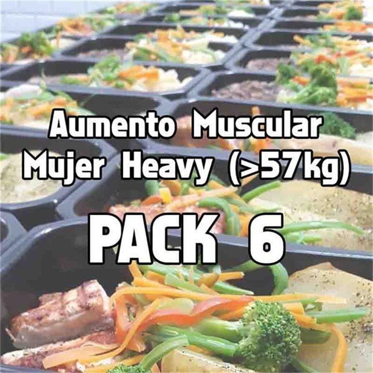 Pack 6 comidas AMH, 1 ud