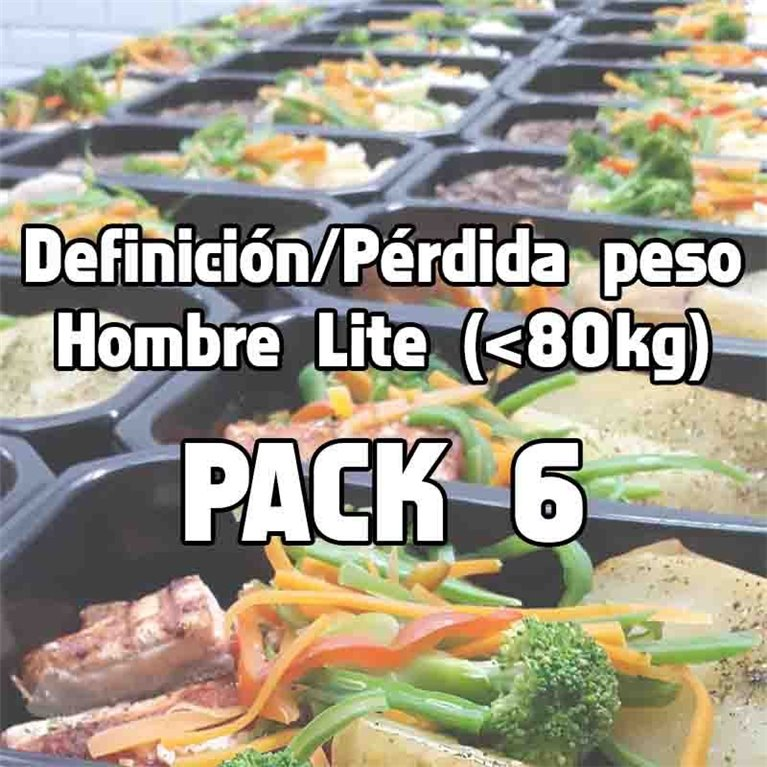 Pack 6 comidas DHL