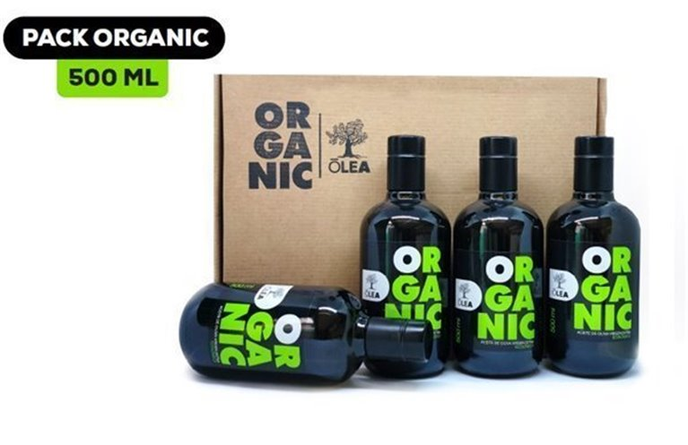 PACK AOVE ORGANIC (ESTUCHE 4 BOTELLAS 500 ML)
