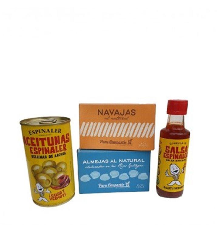 Mediterranean Sea Snacks Pack