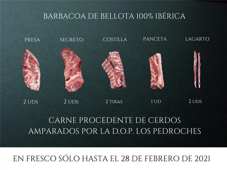 Pack Barbacoa de bellota 100% Ibérica