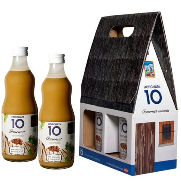 Pack barraca dos botellas de horchata concentrada HISC