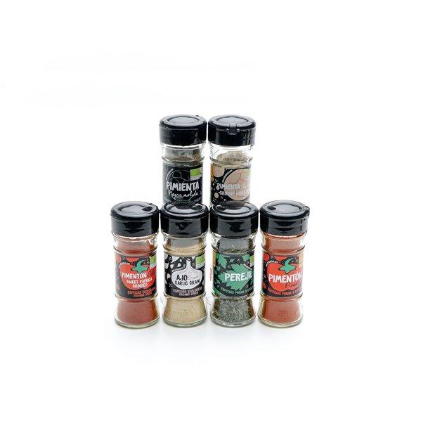 Pack básico de especias ecológicas Andunatura