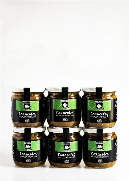 Pack Conserva artesanal de Caracoles en salsa madrileña