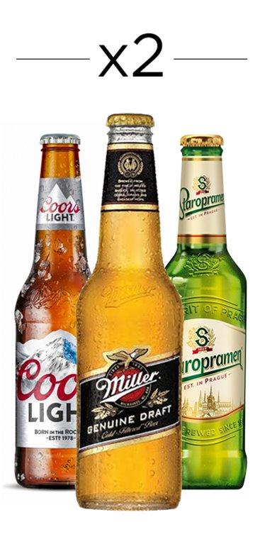 6 Pack of Industrial Lagers' beers