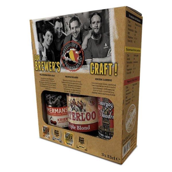 Pack de cervezas belgas