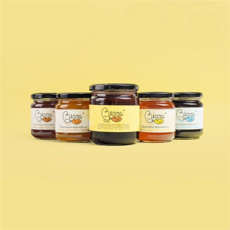 Pack de especialidades + Miel con Cacao