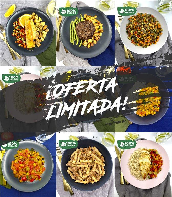 *Pack degustación 8  platos + envío gratis 🎁