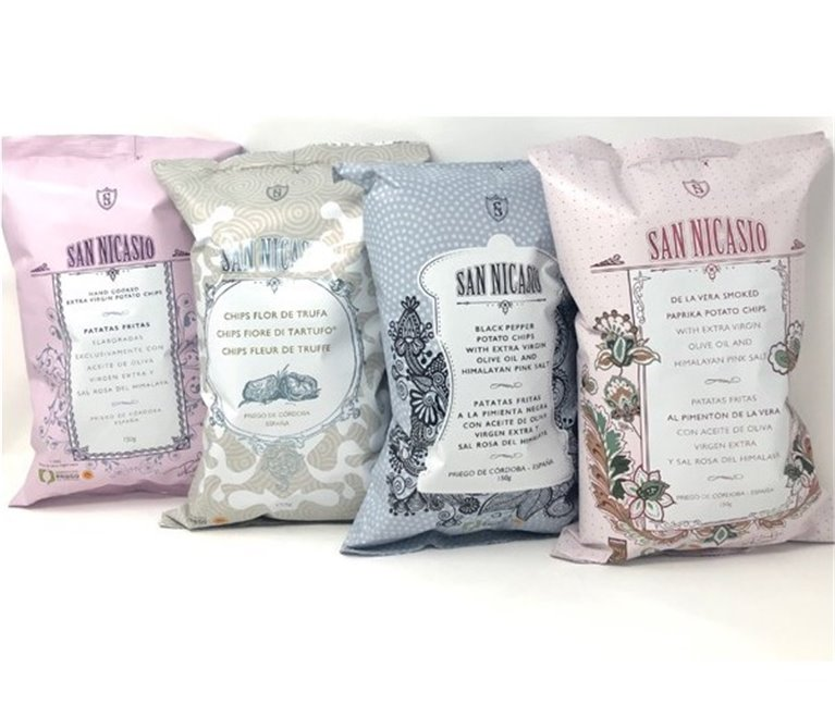 San Nicasio Potatoes Tasting Pack (4 Flavours)