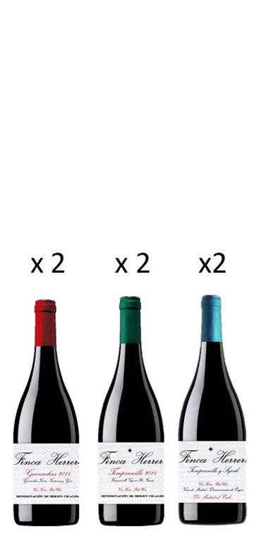 Pack Finca Herrera 6 Botellas, 1 ud