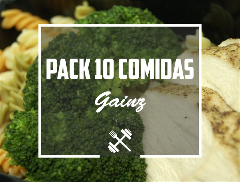 Pack Gainz 10