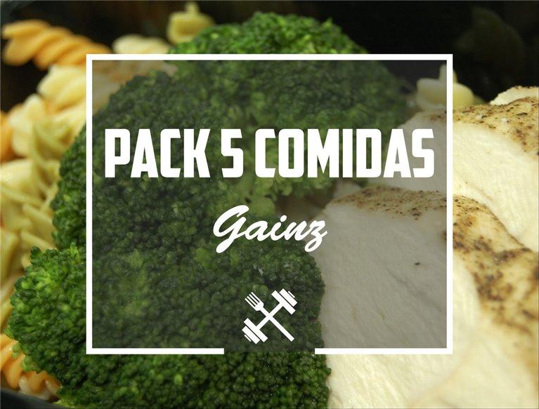 Pack Gainz 5