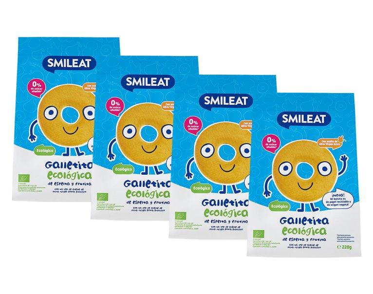 Pack Galletas de Espelta y Fruta 4 uds.