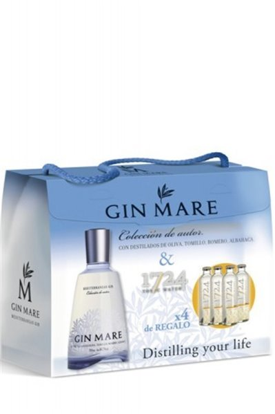 Pack Gin Mare + 4 Tónicas 1724