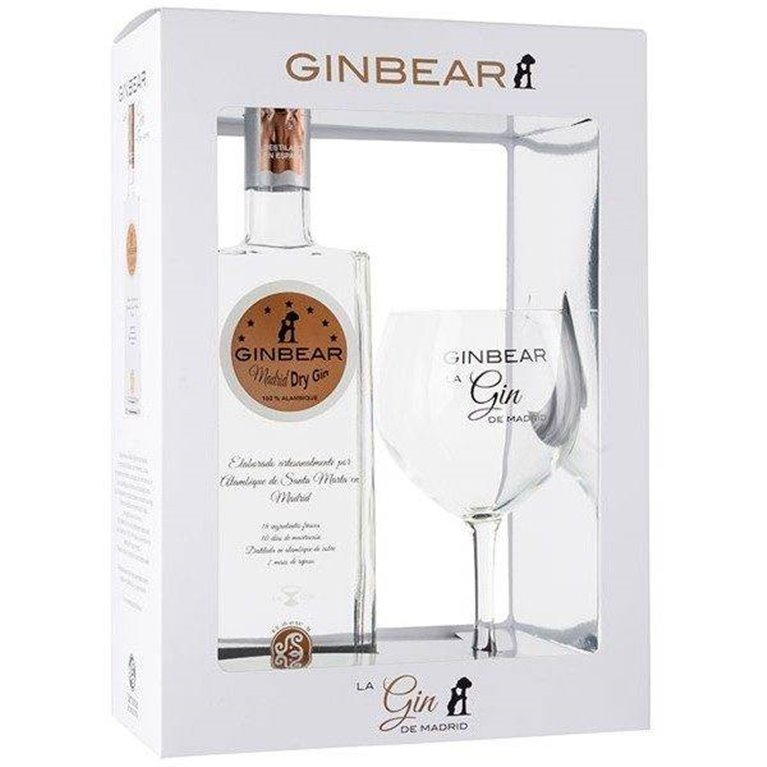 Ginbear Pack 70 cl.