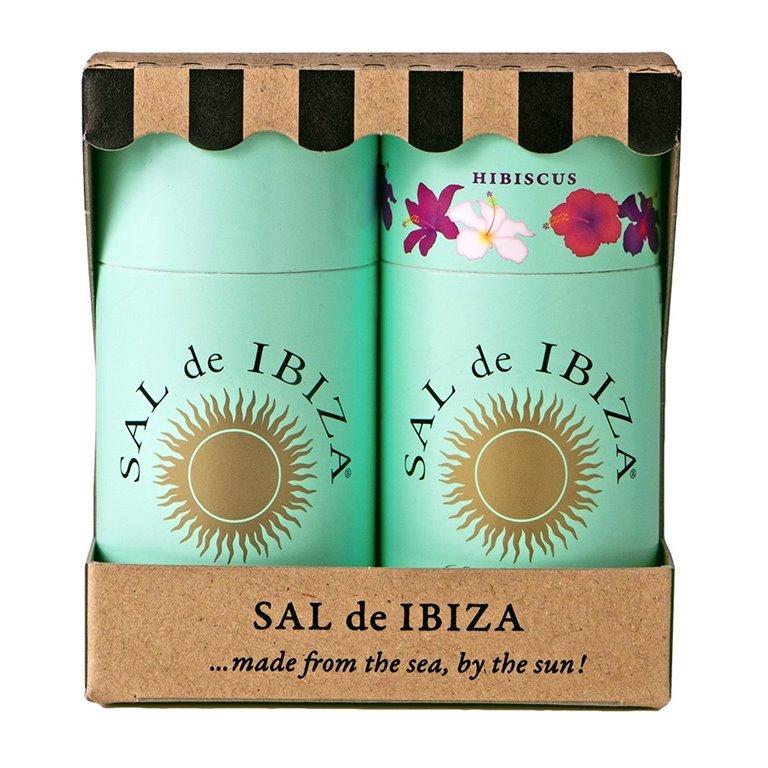 Pack Granito Puro & Hibiscus 215gr. Sal de Ibiza. 5un., 1 ud
