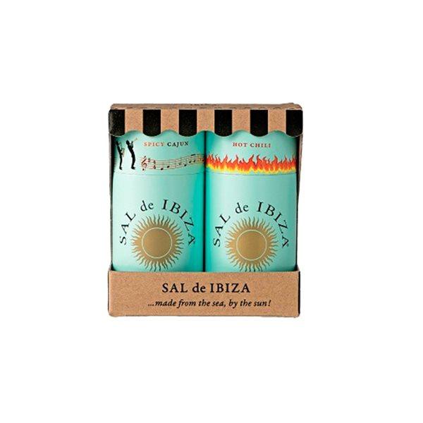 Pack Granito Spicy Cajun & Chili Sal de Ibiza